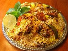 Simple home made chicken dum biryani recipe, the royal nawabi or lucknowi style with easy steps and clear instructions for anyone to try out
