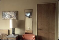Earth To Echo, Motel Room, The Bell Jar, Empty Spaces, Decoration, 1970s, Sconces, Wall Lights, Interior Design