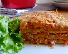 Lasagnes au thon, tomates et ricotta Pasta Recipes, Cooking Recipes, Healthy Recipes, Dessert Drinks, Mets, Culinary Arts, Food Presentation, Lasagna, Coco