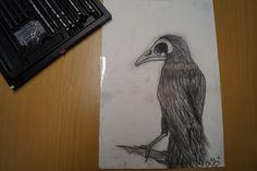 Kohlestift zeichnung made by Wunderdings-Kathi Gmeis// idee Unbekannt Soapstone, Do Your Thing, Random Stuff, Crafts, Do Crafts