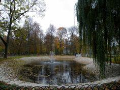 Bernardinų park in the heart of Vilnius.