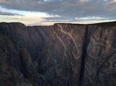 Yesterday I went to visit Black Canyon National Park in Colorado and I was the only there. [40002992] #reddit