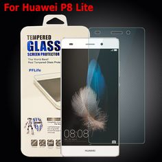 For Huawei P8 Lite Tempered Glass Thin HD 9H Hard Premium Tempered Glass for Huawei Ascend P8 Lite Screen Protector 2pcs/lot