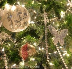 Vintage Christmas ornaments | The Decorated House: ~ Love Of Vintage Christmas Ornaments