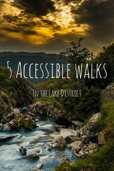 5 Accessible walks in the Lake District. Get accessible walks in the Lake District tips and advice for your accessible travel itinerary. Places To Travel, Places To See, Travel Destinations, Lake District Walks, Peak District, Lake District Camping, Keswick Lake District, Voyage Europe, By Train