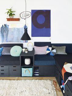 Byg et sofamøbel til stuen - Bolig Magasinet