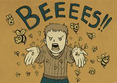 Not the bees!