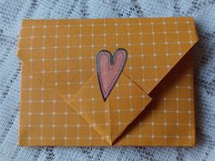 Write a message on a piece of plain paper and fold it into what looks like an envelope. This is a really cute and thoughtful way to send out love or invitations. In this digital age, it would probably be very much appreciated over the usual text messages. Origami Folding, Text Messages, Fun Crafts, Appreciation, Craft Projects, Envelope, Invitations, Lettering
