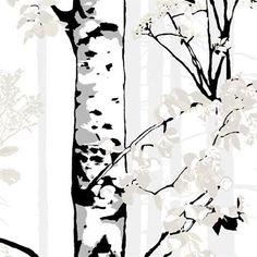 Luontopolku gardin - vit - Vallila Interior