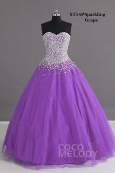 Charming Ball Gown Sweetheart Floor Length Tulle Blue Lace-up Corset Quinceanera dress with Crystals - Glitz & Glare - Special Occasion Dresses Ball Gown Dresses, 15 Dresses, Evening Dresses, Fashion Dresses, Formal Dresses, Sweet 16 Dresses, Pretty Dresses, Beautiful Dresses, Robes Quinceanera