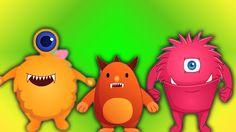 Fünf kleine Monsters das Springen auf dem Bett | Cartoon für Kinder | Le...Heute werden die fünf kleinen Monster auf ihr Bett springen, und sie sind begierig, Ihnen Babys zu zeigen, dass sie die schaurigsten Halloween-Monster sind! #Kinder #Vorschulkinder #Kleinkind #reimtsich #nurseryrhymes #fivelittlemonsters #scaryvideos #kidsvideos #parenting #kindergarten #learning
