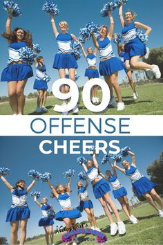 It's time to get those offense AND defense cheers on queue because football season is right around the corner! Level up your cheer sqaud's cheers and chants with 90 new offense cheers and 75 new defense chants! Basketball Cheers, Football Cheer, Basketball Teams, Football Season, Cheerleading Workouts, Cheer Workouts, Cheer Dance Routines, Cheers And Chants, Cheer Coaches