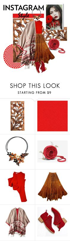 """instagram style"" by shreya-stark ❤ liked on Polyvore featuring NOVICA, Ottolinger, American Eagle Outfitters and Jeffrey Campbell"