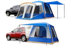 Sportz Napier SUV & Minivan Tents - 25+ Reviews on Napier Van Tents & SUV Tents w/ Awning - 82000, 84000