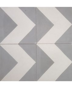Our Chevron White Cement Tile. We can make this pattern in the colours of your choice. Visit us online: http://www.terrazzo-tiles.co.uk/chevron-white-encaustic-cement-tile.html  #terrazzotiles #chevron #cementtiles #interiordesign #encaustictiles #encausticcementtiles #patternedtiles #bathdesign #hydraulictiles #fireplace @TerrazzoTiles