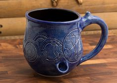Pipe Mug Left Handed Dr. Who Mug by MichellePottery on Etsy