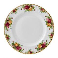"Royal Albert Old Country Roses Set of (4) Salad/ Breakfast/ cake plates 8 1/4""  #RoyalAlbert"