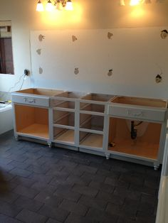 Cabinets in...