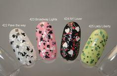 Maybelline All Access NY Glitter Topcoats http://heidispolish.com/maybelline-all-access-ny/
