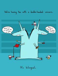 bilingual unicorns @Shira Leuchter rubin