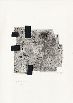 Eduardo Chillida, ohne Titel, 1959 Print and Collage. Modern Art, Contemporary Art, Collagraph, Art Prints For Home, Famous Art, Gravure, Sculpture Art, Printmaking, Art Drawings