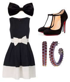 """dapper"" by whitneyrose98 on Polyvore featuring Christian Louboutin and Disney"