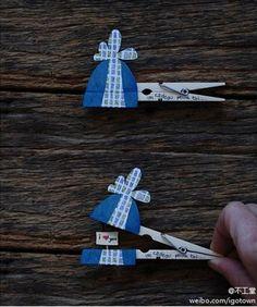 11 kreative DIY Bastelideen mit Wäscheklammern! Toll für Kinder! - Seite 11 von 11 - DIY Bastelideen