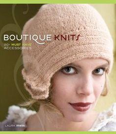 cute knit cloche