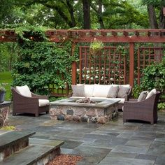 privacy fence ideas patio | Chicago Home Privacy Fence Ideas Design Ideas, Pictures, Remodel, and ...