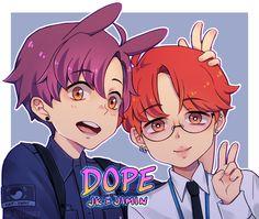 Pop Posters, Line Friends, Jikook, Jimin, Bts, Fan Art, Kpop, Artist, Artwork