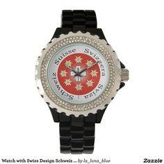 Uhr mit Schweizer-Entwurf Schweiz Suisse die