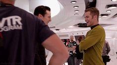 "Star Trek Into Darkness — Character Profile ""John Harrison"" BTS *gif*"