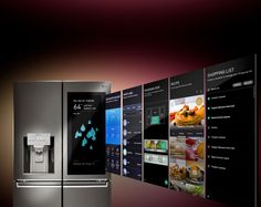 "With Amazon Alexa built in the fridge you can shop for groceries, play music, check the weather, create shopping lists, manage your calendar and more via voice commands. Use the 29"" HD transparent LCD touch-screen to set food expiration dates, see all the contents of your fridge, upload photos, leave notes for your family and more."