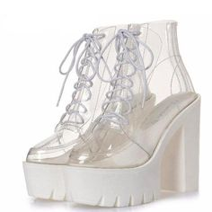 a18a606764 69 Best Clear Shoes images in 2019 | Heels, Clear heels, High heel