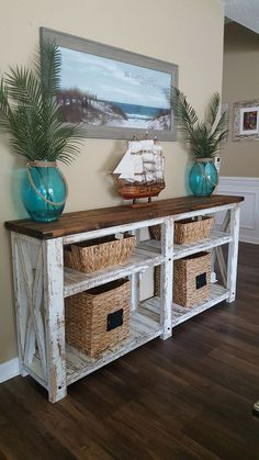 65 Gorgeous Coastal Living Room Decor Ideas redecorationroom is part of Coastal beach decor Many people look back on their childhood and fondly remember relaxing family trips to the beach Then the - Beach Cottage Style, Beach House Decor, Coastal Style, Coastal Cottage, Beach Apartment Decor, Rustic Beach Decor, Living Room Decor Beach, Beach Decor Bathroom, Coastal Farmhouse