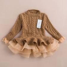 Resultado de imagem para vestidos de criança de inverno