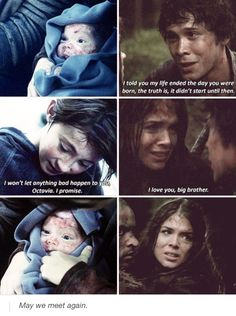 The 100 - Bellamy and Octavia Blake