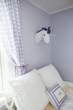 Unicorn and Deer Faux Taxidermy - whileshenaps.com