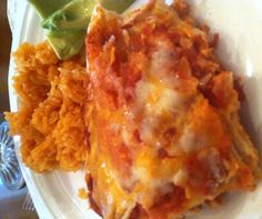 Ol Mexican Casserole is a delicious and easy south of the border dish. Add Mexican rice and sliced avocados for a meal!