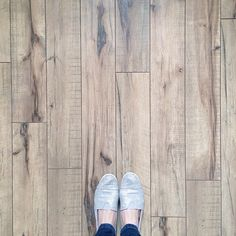 swift lock laminate flooring in hand-scraped hickory