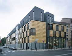 Front Building of Student Residence Design by ECDM Architects Image
