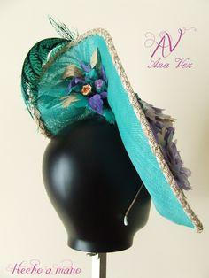 Ana Vez Atelier Semipamela Alta Costura detalles. Realizada de manera artesanal.