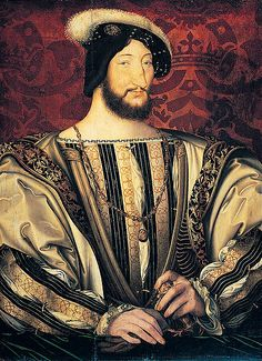 Francis I of France - Painting by Jean Clouet