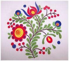 Diseño de bordado de flores FL024 por ZiiEmbroidery en Etsy