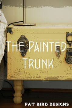 The Painted Trunk by Fat Bird