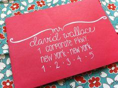 addressing an envelope - updated