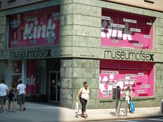 Museum of Sex. 233 5th Avenue (corner of 27th). | The Advertising Of The Museum Of Sex