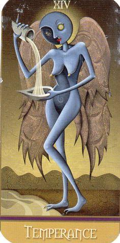 .Deviant Moon Tarot