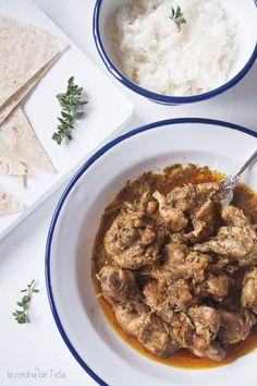 La cocina de Tesa: Curry Biryani de pollo