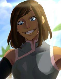 I need to see this girl smile again. | Korra | Book 4: Balance | Legend of Korra | Avatar